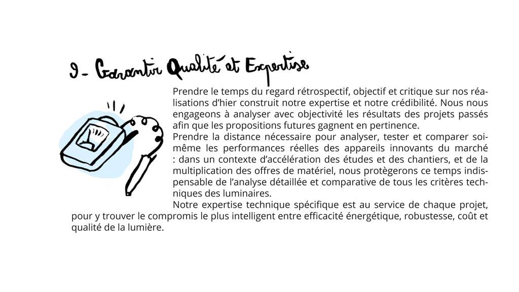 manifeste_9_garantir qualite et expertise
