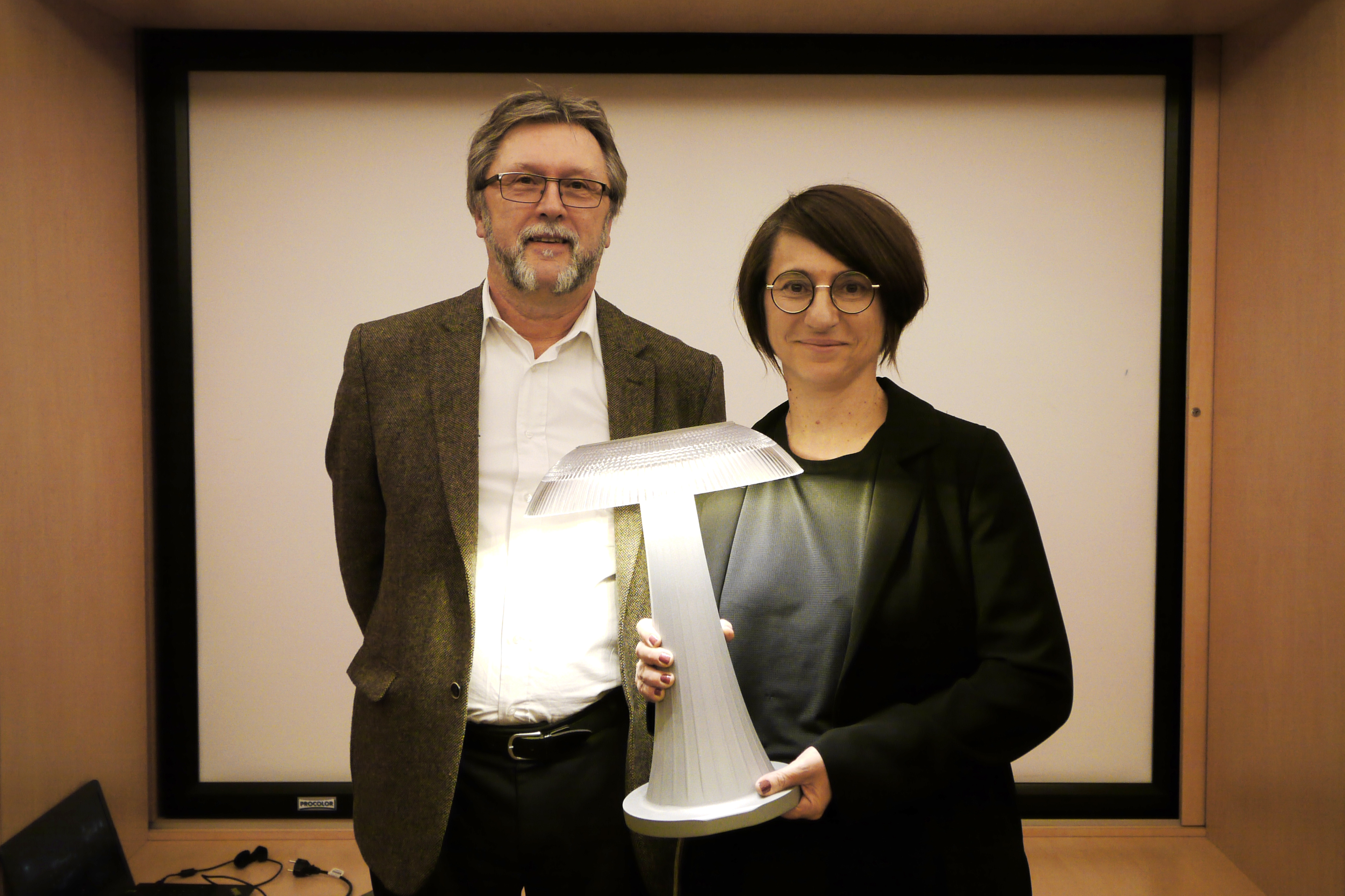 Anne Bureau (Wonderfulight) et Jacques Boivin (Eclatec)