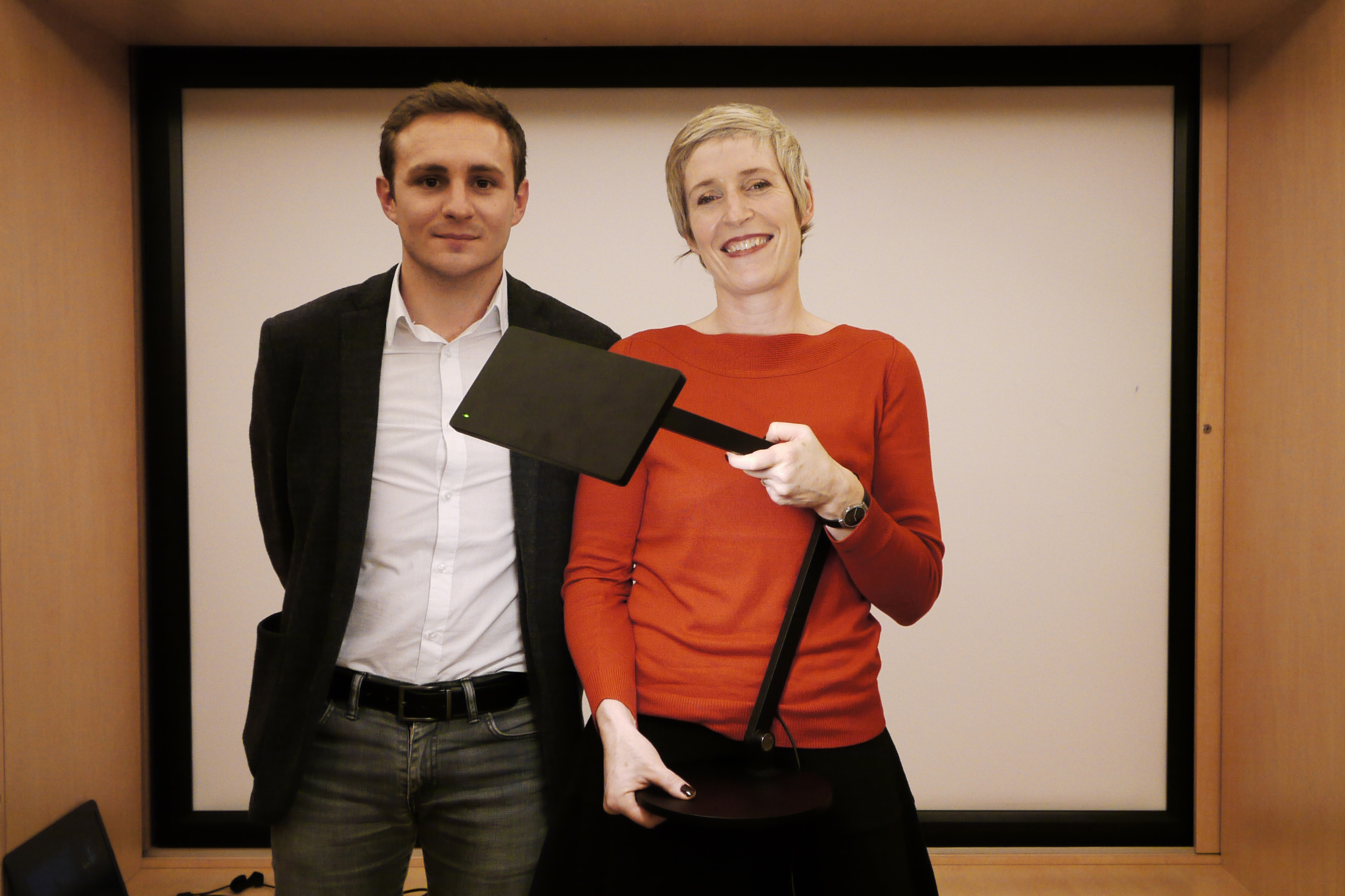 Isabelle Corten (Radiance 35) et Clèment Gerbault (XAL)